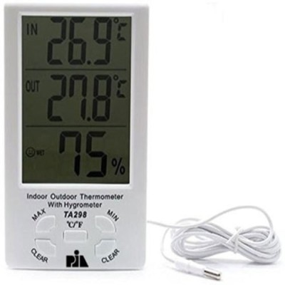 Indoor Outdoor TA298 Thermo Hygro Thermometer