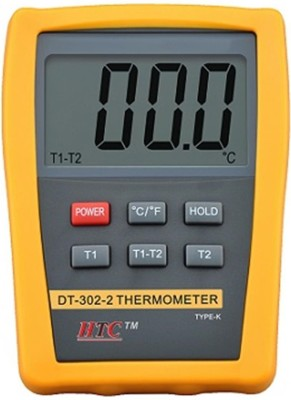 HTC DT-302-2 Thermometer Thermometer(Yellow, Grey)