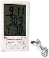 R-tek RT-905 Digital Hygrometer Indoor-Outdoor Temperature , Indoor Humidty , Alarm clock, Calender With Censor Cable Thermometer