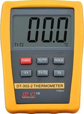 HTC DT-302-1 DT-302-2 Thermometer(Yellow)