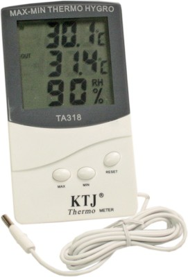 SJ TA318 Indoor-Outdoor Thermo Hygrometer Thermometer