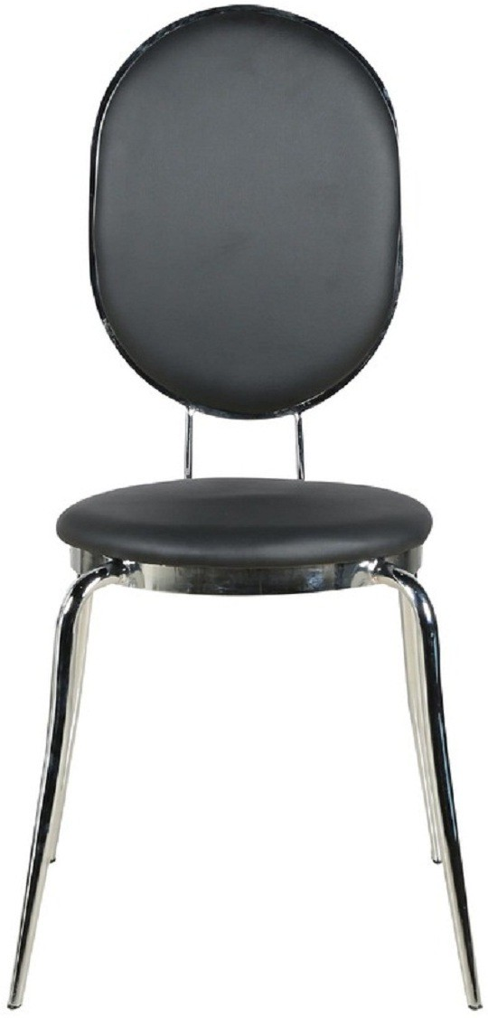 View Parin Metal Dining Chair(Set of 1, Finish Color - black) Furniture (Parin)