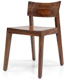 Dmango Solid Wood Dining Chair (Set of 1...