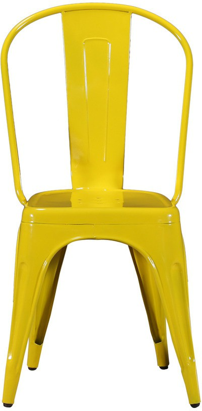 View rae Metal Dining Chair(Set of 1, Finish Color - yellow) Furniture (rae)