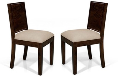 Urban Ladder Oribi Solid Wood Dining Chair(Set of 2, Finish Color - Mahogany)