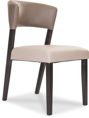 Durian CRYSTAL Leatherette Dining Chair(Set of 1, Finish Color - Olive :: Light Grey)