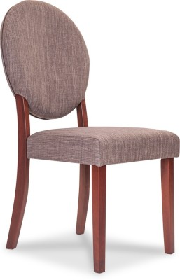 Durian ONYX Fabric Dining Chair(Set of 1, Finish Color - Brown)