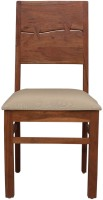 peachtree Solid Wood Dining Chair(Set of 01, Finish Color - Natural)