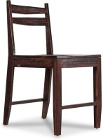 Durian PICTOR Solid Wood Dining Chair(Set of 1, Finish Color - Red)
