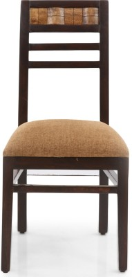 Evok Venice Solid Wood Dining Chair(Set of 1, Finish Color - Brown)
