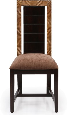 Evok Nirvana Solid Wood Dining Chair(Set of 1, Finish Color - Brown)