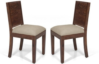Urban Ladder Oribi Solid Wood Dining Chair(Set of 2, Finish Color - Teak)