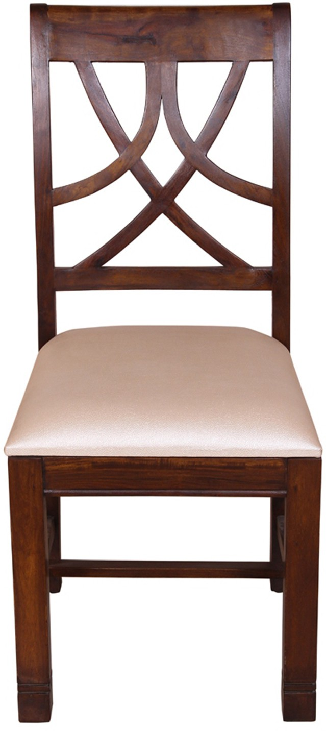 View Housefull Solid Wood Dining Chair(Set of 1, Finish Color - Honey) Furniture (Housefull)