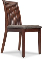 Durian EMERALD/A Solid Wood Dining Chair(Set of 1, Finish Color - Fuscous Grey)