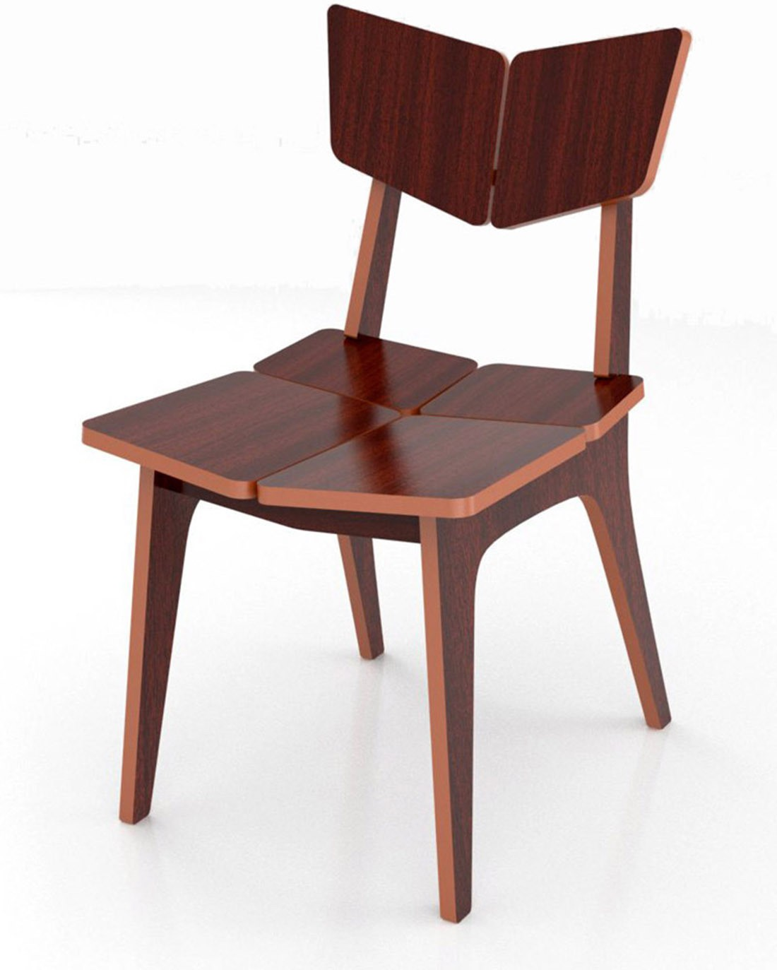 3933979cae Crosscut Furniture Engineered Wood Dining Chair