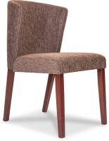 Durian MINT Fabric Dining Chair(Set of 1, Finish Color - Brown)