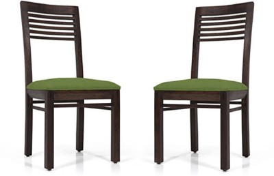 Urban Ladder Zella Solid Wood Dining Chair(Set of 2, Finish Color - Mahogany)