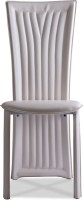 Durian BAZH/36212/B/DC Metal Dining Chair(Set of 1, Finish Color - Beige)