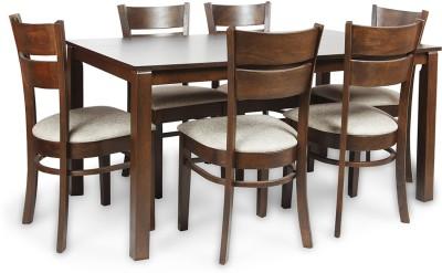 HomeTown Beldon Solid Wood Dining Set(Finish Color - Wenge)