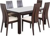 HomeTown Carlton Solid Wood Dining Set (...