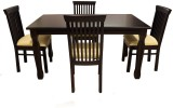 Woodpecker Brisbane Solid Wood Dining Se...