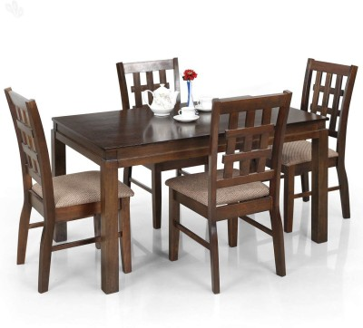 Royal Oak Daisy Solid Wood Dining Set(Finish Color - Honey Brown)