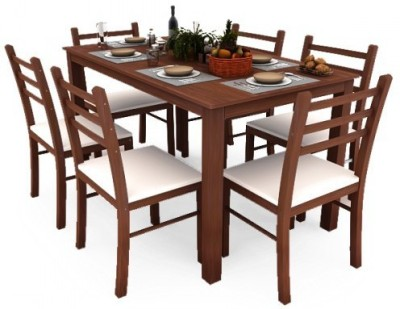 Housefull Engineered Wood Dining Set(Finish Color - OAK)