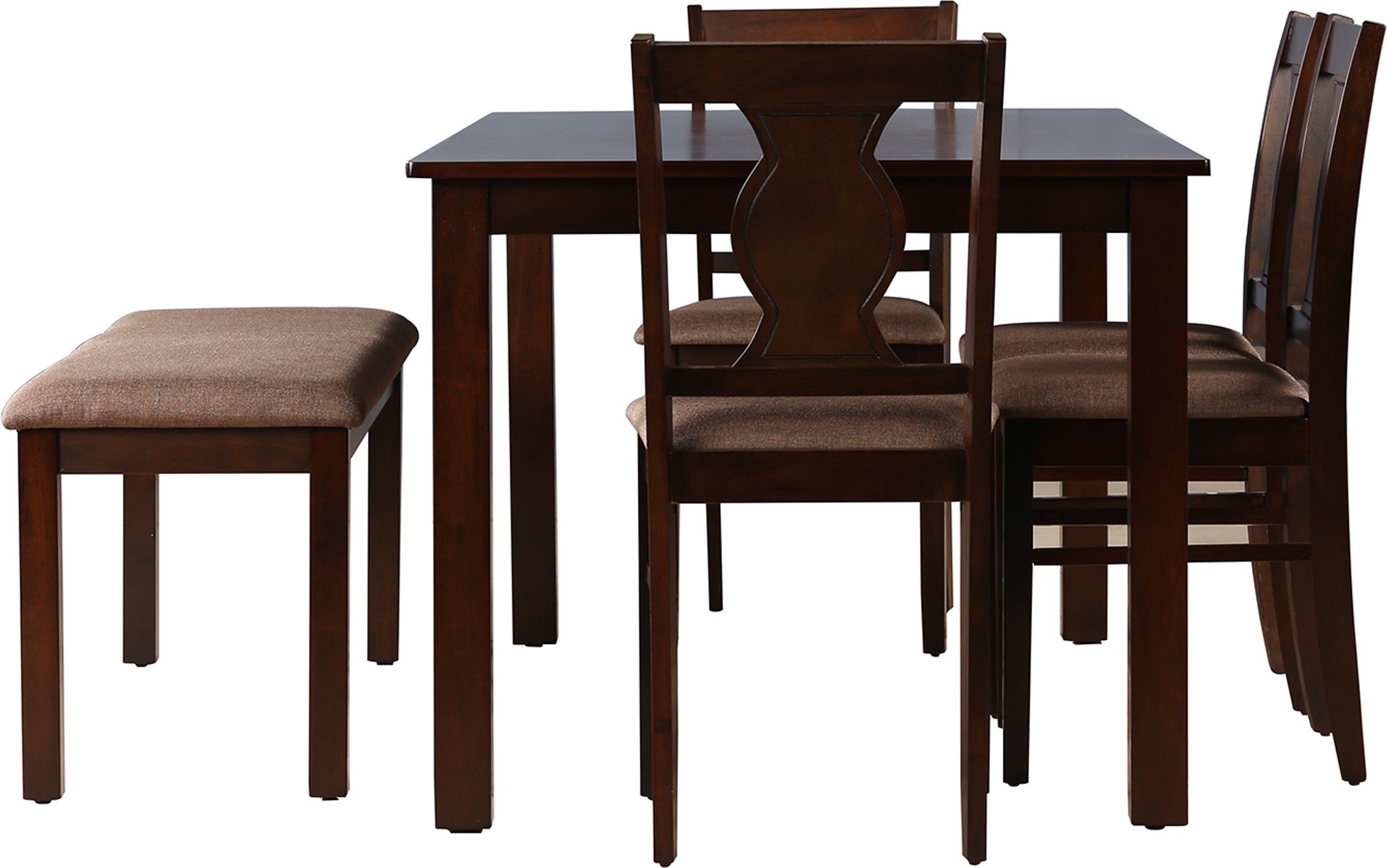 461d923e2fa View HomeTown Artois Solid Wood Dining Set(Finish Color - Dark Walnut)  Furniture (