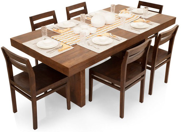 TheArmchair Solid Wood Dining Set