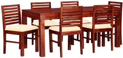 Smart Choice Furniture Rosewood (Sheesham)_JIDS12_Matte finish Solid Wood Dining Set