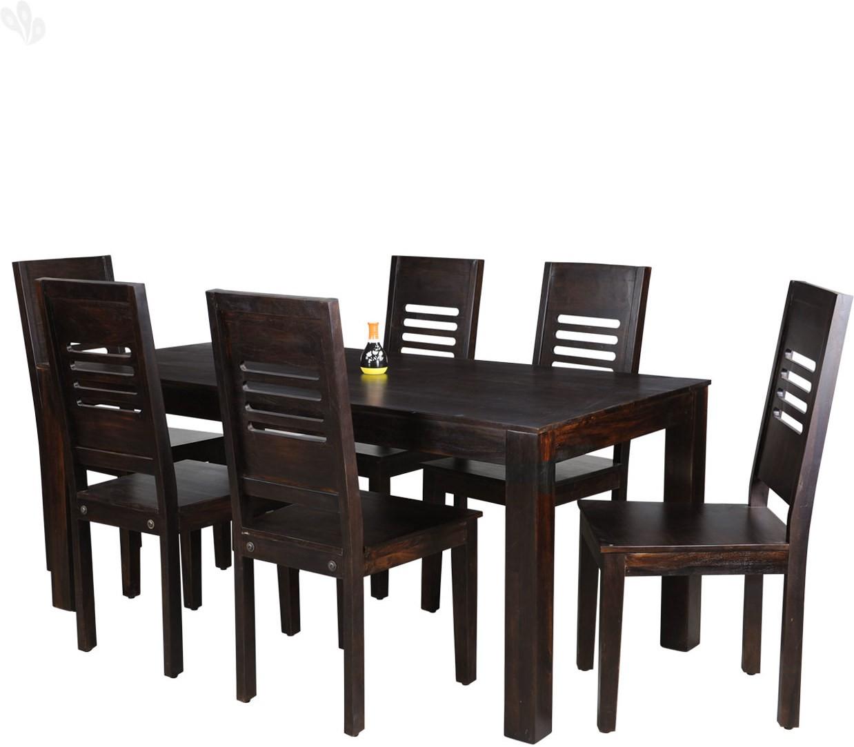 Surprising Buy Royal Oak Jade Solid Wood Dining Set Finish Color Dark Home Interior And Landscaping Ologienasavecom