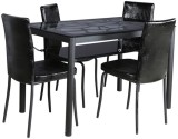 Parin Metal Dining Set (Finish Color - B...