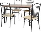 FurnitureKraft 11001A Metal Dining Set (...
