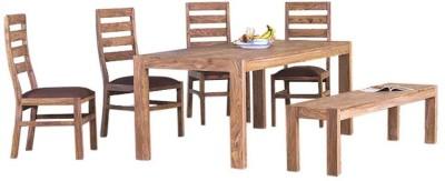 Smart Choice Furniture Rosewood (Sheesham)_JIDS04_Matte finish Solid Wood Dining Set