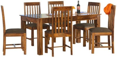 Smart Choice Furniture Rosewood (Sheesham)_JIDS03_Matte finish Solid Wood Dining Set