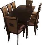 HomeTown Calisto Solid Wood Dining Set (...