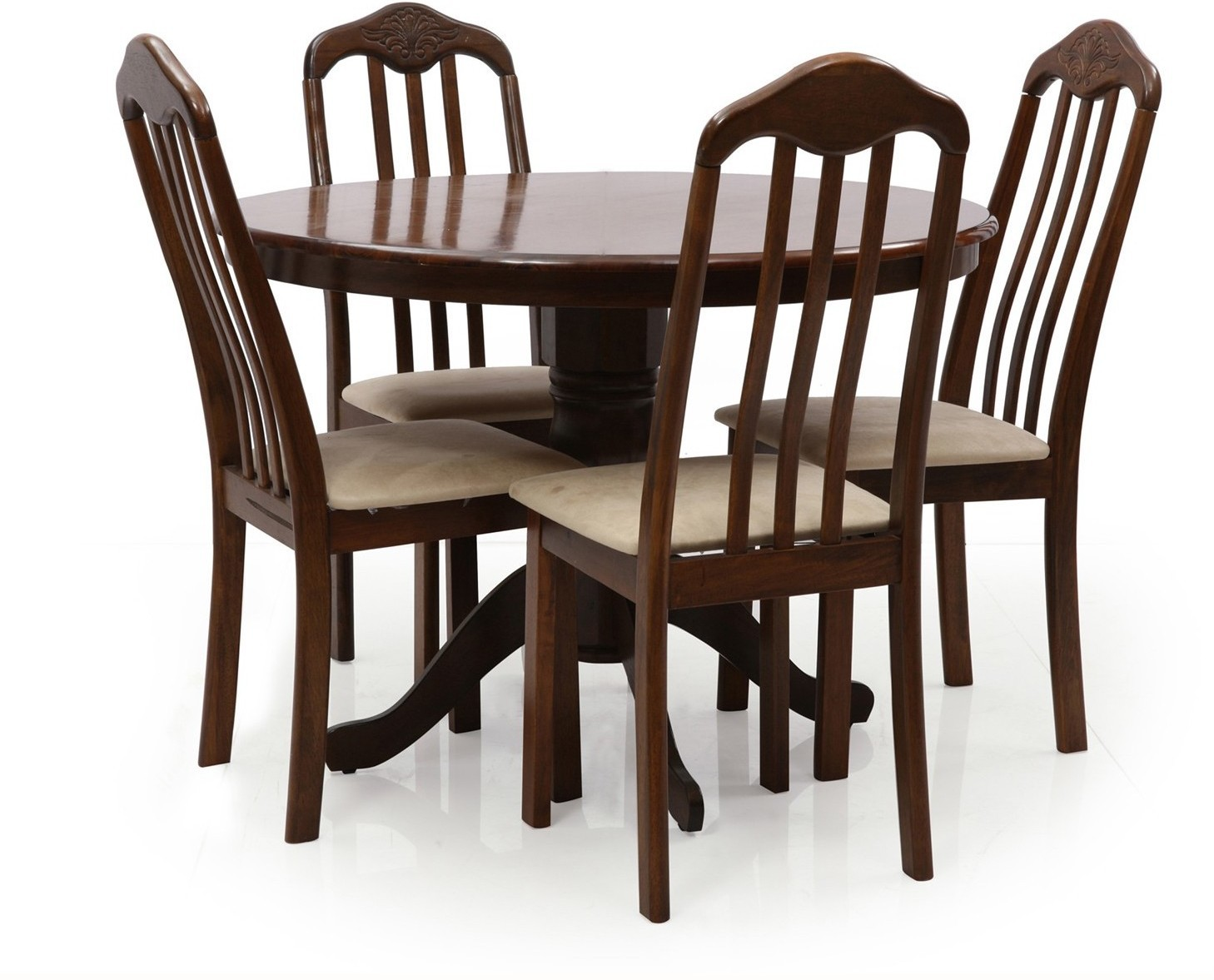 Evok Helena Solid Wood Dining Set