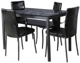 Parin Metal Dining Set (Finish Color - b...