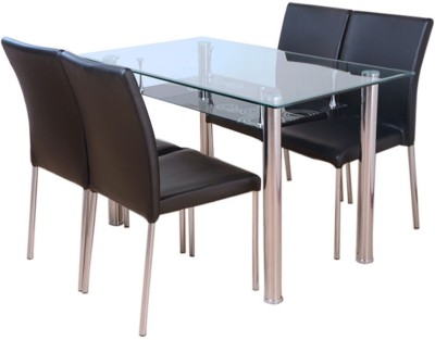 HomeTown Vento Metal Dining Set