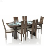 Royal Oak Daffodil Solid Wood Dining Set...