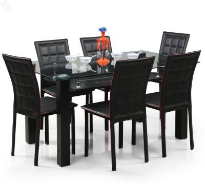 Royal Oak Aqua Glass Dining Set