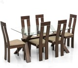 Royal Oak Olive Solid Wood Dining Set (F...