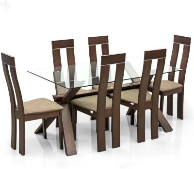 Royal Oak Olive Solid Wood Dining Set
