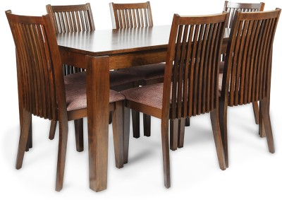 HomeTown Metro Solid Wood Dining Set(Finish Color - Esspresso)