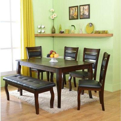 @home by Nilkamal Larissa Solid Wood Dining Set