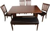 HomeTown Phacelia Solid Wood Dining Set ...