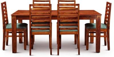 Smart Choice Furniture Rosewood (Sheesham)_JIDS06_Matte finish Solid Wood Dining Set