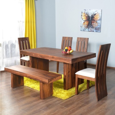 @home by Nilkamal Delmonte Solid Wood Dining Set