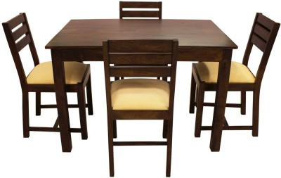 Woodpecker Antartic Solid Wood Dining Set