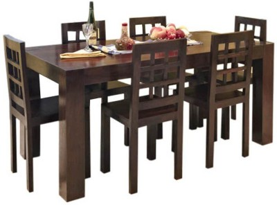 Smart Choice Furniture Rosewood (Sheesham)_JIDS02_Matte finish Solid Wood Dining Set